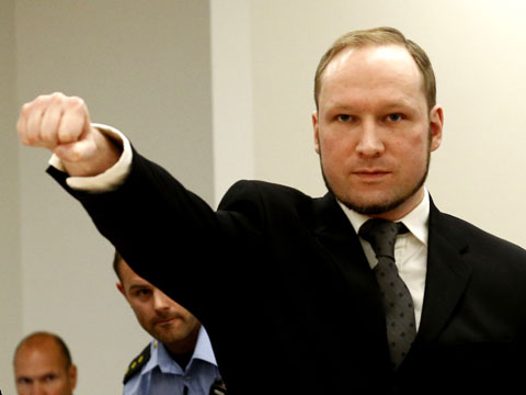 Anders Behring Breivik (Norway) - the worst recorded spree killer.