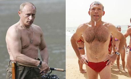 Shirtless Tough Guy World Leader Summit forced to reconvene at a date to be decided.