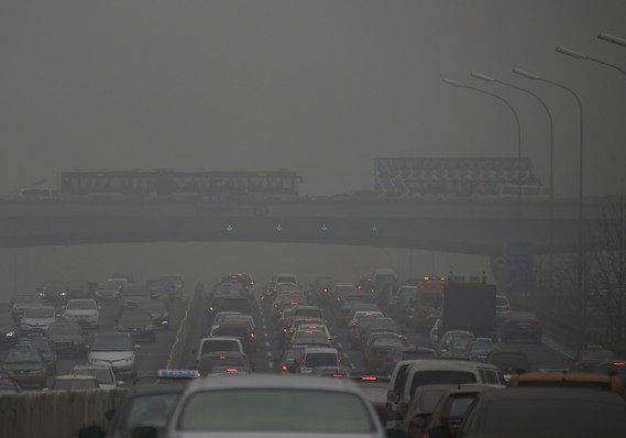 Visibility may be less than ideal. Photo: Reuters