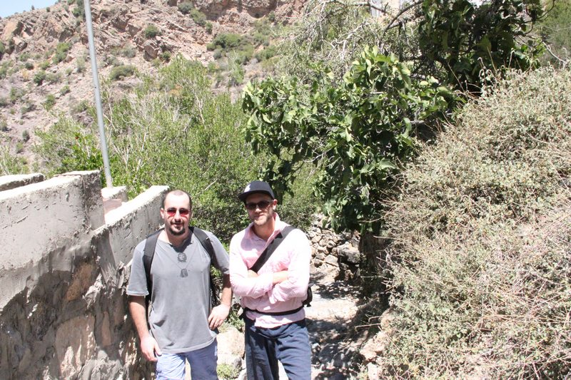 Why not run into an old friend on an ancient Middle eastern mountain trail... if not it would just be somewhere else. Photo: Peninsularity Ensues