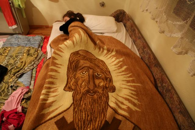 Saint Sava of the brown blanket Photo: Peninsularity Ensues