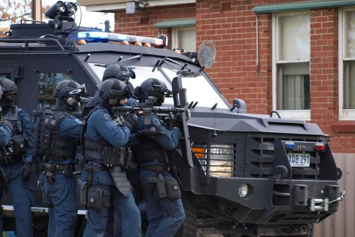 South Australia's Anti-terrorist forces... Photo: ABC