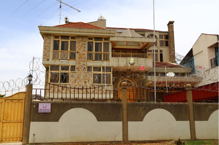 North Korean embassy, Addis Ababa, Ethiopia. Photo: Peninsularity Ensues
