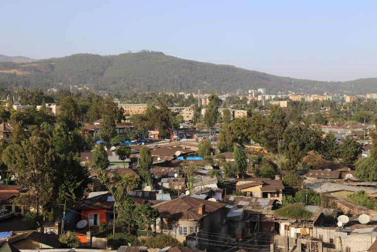 Suburban Addis Ababa, 2015. Photo: Peninsularity Ensues