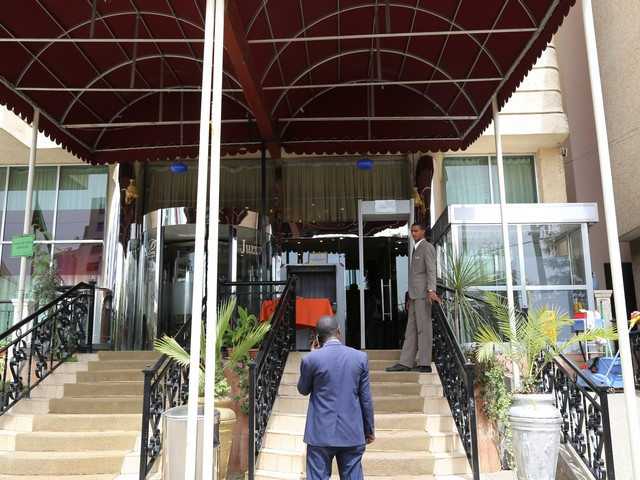 Hotel Security, Addis Ababa, Ethiopia Photo: Peninsularity Ensues