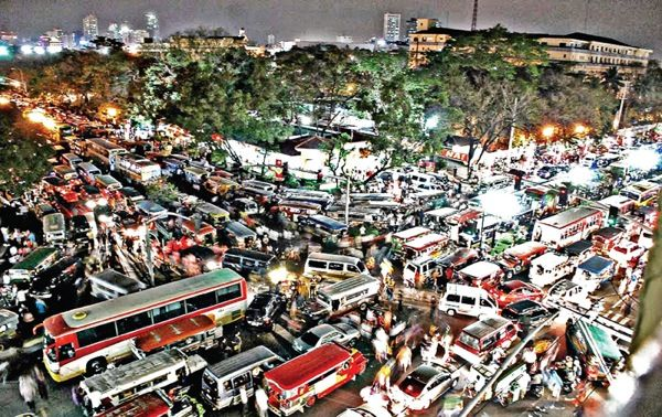 Not like, say, Manila traffic, which is just astoundingly bad. Photo: Business Mirror.